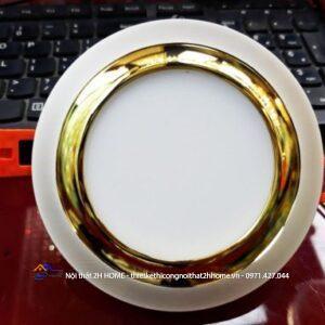 Dowlight liền tụ viền vàng 1104-7W đơn màu