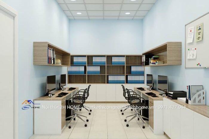Nội thất văn phòng đẹp với công năng sử dụng phù hợp
