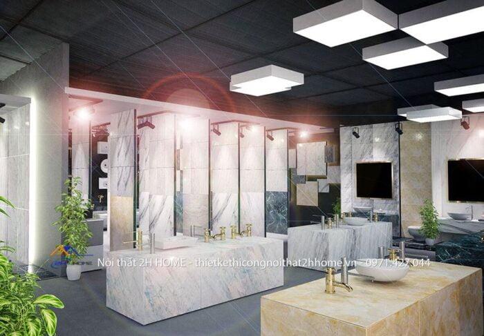 thiết kế showoom trưng bày