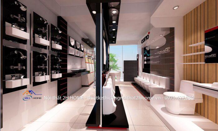 thiết kế sửa chữa showroom
